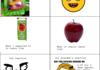 Bubble gum apples