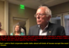 Bernie not playing the media's game