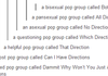 Better than gay pop group, One Direction