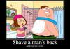 Back Shaving