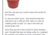 Bucket Story