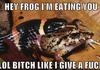 Badass Frog