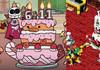 Booster's Wedding Cake?