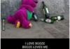BARNEY as you've never seen him before..