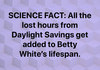 Betty Savings Time