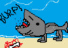 Burping Land Shark