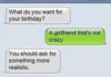 Birthday?