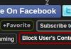 Block User's Content!