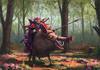 Boar riding