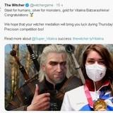 Gold witcher
