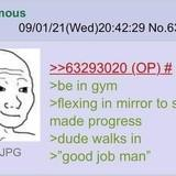 anon is witnessed